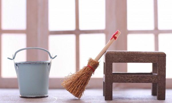 掃除道具の小物達