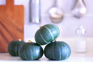 キッチンのかぼちゃ